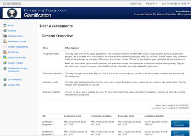 Peer assesment